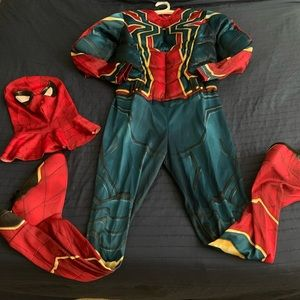 IRON SPIDERMAN 🕷 Costume with breathable mask